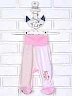 Ползунки штанишки розовые 62