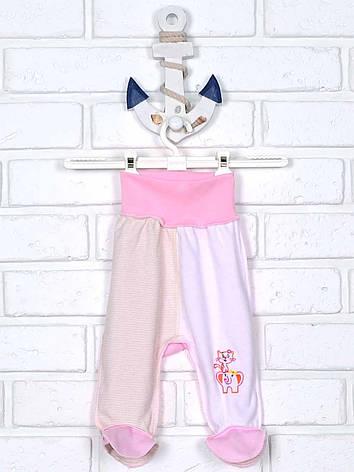 Ползунки штанишки розовые 62, фото 2
