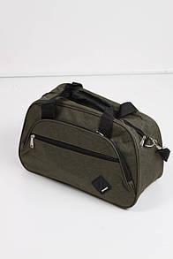 Дорожная сумка FAMO Гера зеленая Длина 41.0(см)/ Высота 27.0(см) (0018)