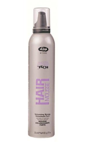 Мусс для волос Lisap High Tech Hair Mousse Volum сильной фиксации 300 мл