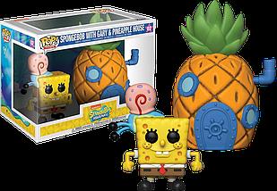 Фигурка Funko Pop SpongeBob SquarePants Фанко Поп Город 02: Губка Боб Квадратные Штаны с Ананасом