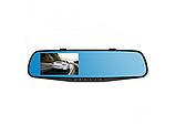 Реєстратор дзеркало DVR 138, відеореєстратор, камера, фото 4