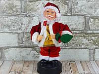 Интерактивная новогодняя игрушка Дед Мороз двигается, фото 1