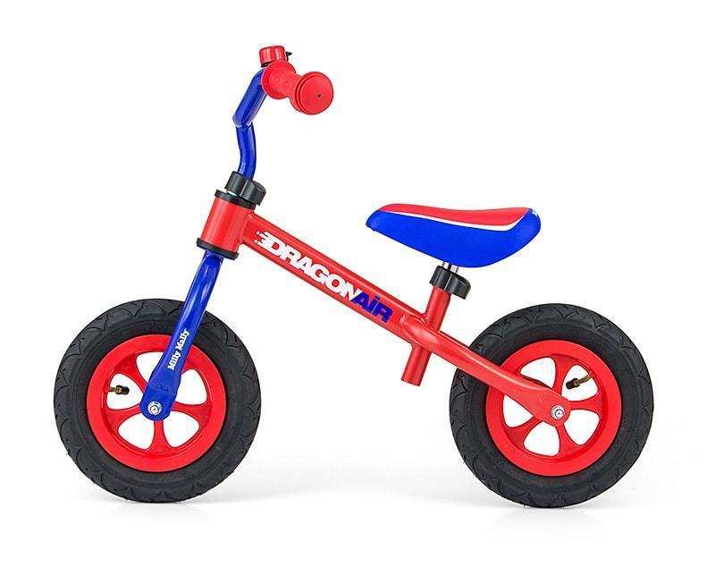Велобіг від дитячий Milly Mally Dragon AIR (беговел самокат-беговел дитячий транспорт)