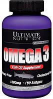 Комплекс незаменимых жирных кислот Ultimate Nutrition Omega 3 18:12 (180 капс)