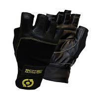 Перчатки Scitec Nutrition Yellow Leather Style