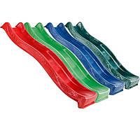 Горка детская пластиковая скользкая 2.2 м спуск для детей