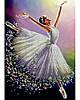 Схема для вишивки бісером Балерина