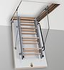 Чердачная металлическая лестница 800*700 мм.
