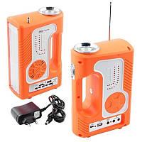 Переносной фонарь LUXURY 2889 SY радио USB power bank, фото 1