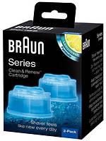 Аксессуар для бритв BRAUN Clean Charge 2шт. Картридж, фото 1