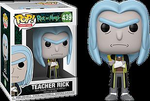 Фигурка Funko Pop Rick and Morty Tiny Rick Рик и Морти Teacher Rick Multi Учитель Рик 10см RM R439
