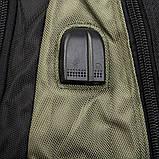 Большой рюкзак из нейлона с плотной спинкой Power In Eavas 8211, фото 10