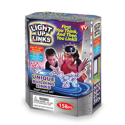 Игрушка конструктор Light Up Links. Детский светящтйся развивающий конструктор.