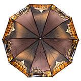 Зонт женский полуавтомат Города разные цвета, фото 2