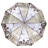 Зонт женский полуавтомат Города разные цвета, фото 3