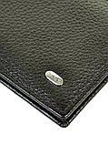 Зажим для купюр кожаный Classik кожа DR. BOND MZS1 black, фото 3