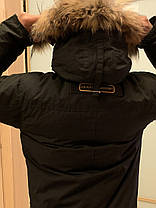Мужской пуховик Канада гус Canada goose Chateau (BLACK), фото 3