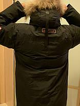 Мужской пуховик Канада гус Canada goose Chateau (BLACK), фото 2