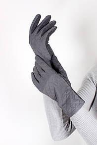 Перчатки FAMO Женские перчатки сенсорные Божена серые One size (PER1805)