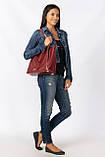 Женская сумка натуральнпя кожа, фото 3