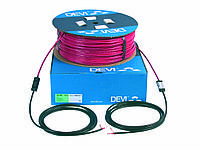 Тёплый пол DEVI - Одножильный кабель 74м / 1465Вт