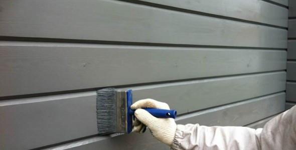 Покраска деревянных домов, фото 1