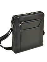Мужская кожаная сумка - планшет Bretton BE 3563-3 black
