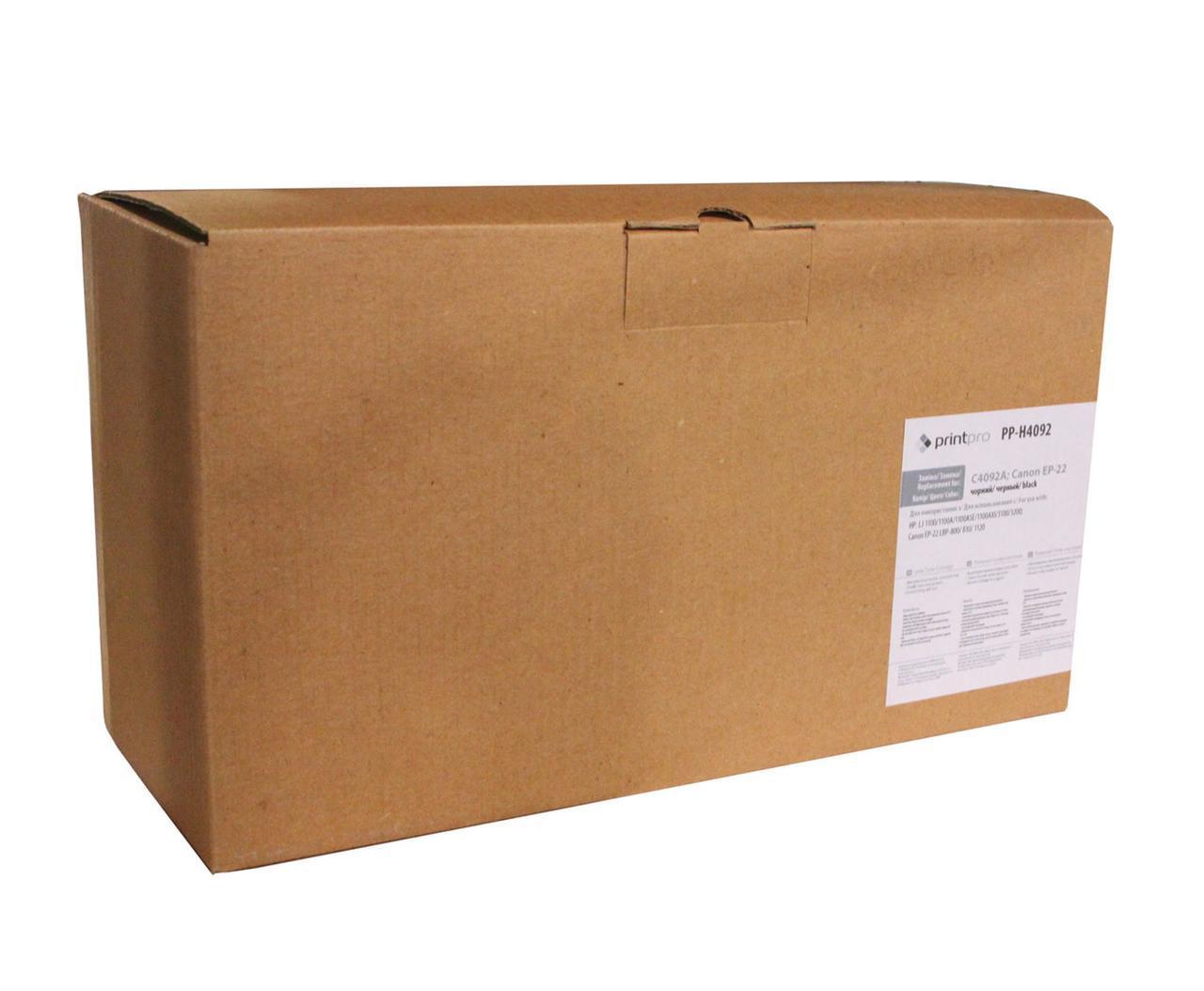 Картридж HP 92A (C4092A), Black, LJ 1100/3200/3220, PrintPro (PP-H4092)