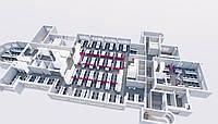 Планировочное решение для офиса более 1000 м2