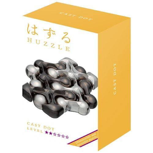 Huzzle Dots 2* Металлическая головоломка Точки Hanayama (Japan)