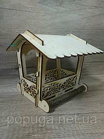 Уличная кормушка для птиц #3085 19*17*16