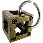Huzzle Box 2* Металлическая головоломка Бокс Hanayama (Japan), фото 3