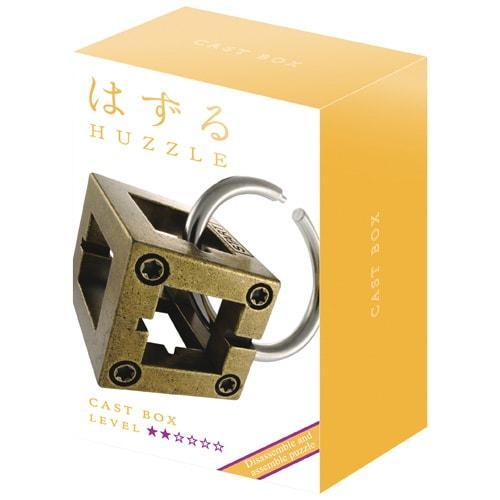 Huzzle Box 2* Металлическая головоломка Бокс Hanayama (Japan)