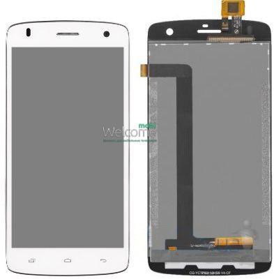Модуль FLY IQ4503 Era Life 6 Quad white дисплей экран, сенсор тач скрин Флай