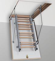Чердачная металлическая лестница 1100*800 мм., фото 1