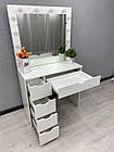 Стіл для візажиста, робоче місце перукаря, фото 4