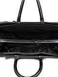 Дорожная сумка-саквояж dr. Bond 8712 black, фото 4
