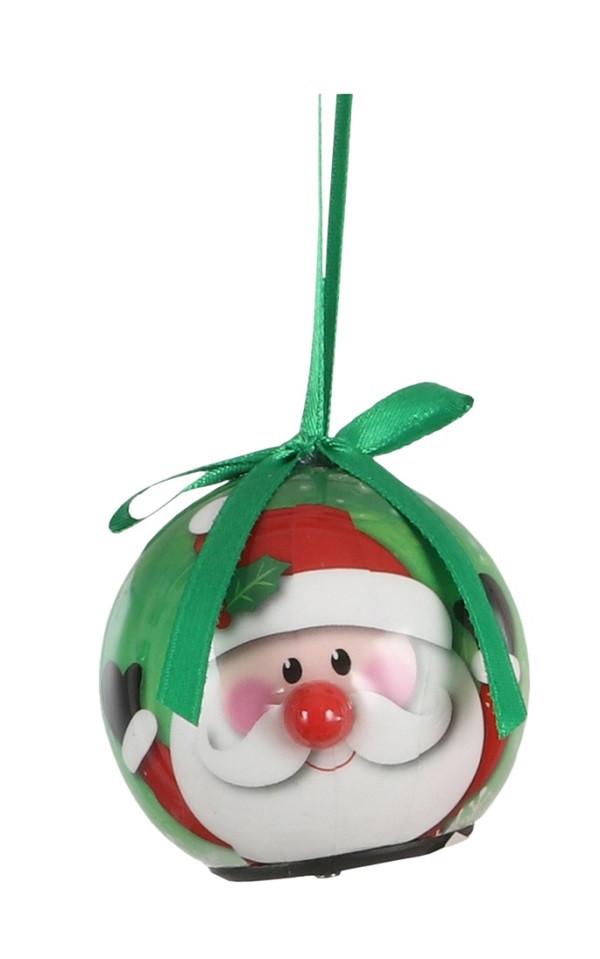 Украшение декоративное Шар Новогодний LED, 5 см, House of Seasons в асс., зеленый