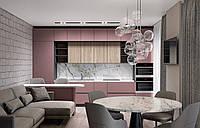 Дизайн-проект интерьера квартиры до 100 м2