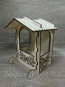 Уличная кормушка для птиц #3072 11*11(8)*16