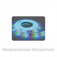 "Лента светодиодная ""GANJ/RGB"" (220-240V) влагозащищенная .SMD LED IP65  28*35 12.5W/m"