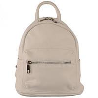 Рюкзак женский кожаный мягкий флотар Virginia Conti 01383 Bianco Белый (Art01383_white)