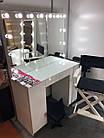 Стіл для візажиста з фарбованими МДФ фасадами, фото 4