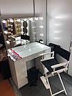 Стіл для візажиста з фарбованими МДФ фасадами, фото 5