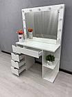 Стол для визажиста, рабочее место парикмахера, визажный стол, фото 6