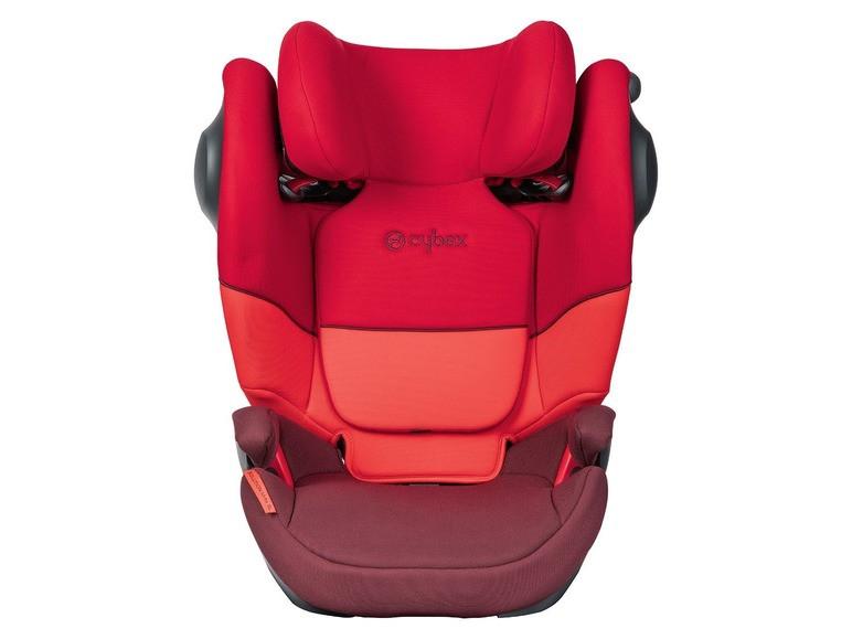 Автокресло Cybex Solution M-Fix SL 15-36 кг Red