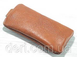 Шкіряна ключниця коричнева, фото 2