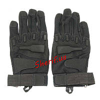 Перчатки тактические полнопалые Blackhawk Ful Finger Black (размер L)