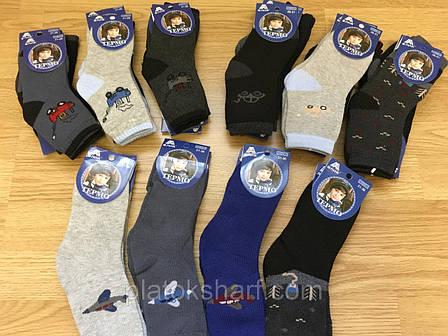 Шкарпетки мальчуковые на Махре «Три розміру» до 10 років до 36 розміру (С99), фото 2